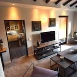 Luxus lakás, 2 hálószobával, nemdohányzó, erkély - Nappali