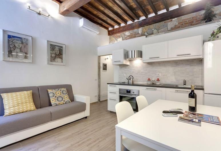 古爾法屋飯店, 佛羅倫斯, 公寓, 1 間臥室, 地面層, 客廳