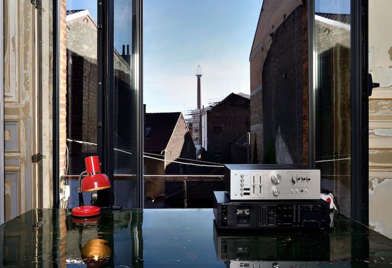 B&B DRUUM, Brussels, City Double Room, City View, Guest Room View