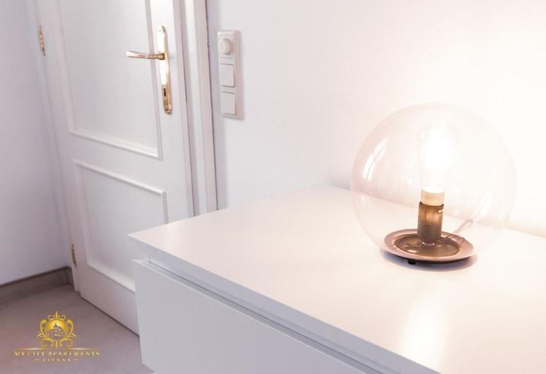 My City Apartments - Prime Location, Viena, Estúdio standard, 1 cama de casal, Sem janelas, Piso térreo, Quarto