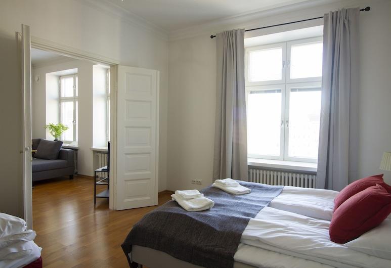 2ndhomes Iso Freda, Helsingi, Deluxe külaliskorter, 2 magamistoaga, saun, vaade linnale, Tuba
