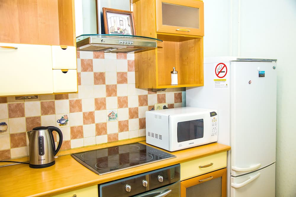 Huoneisto, Useita sänkyjä, Tupakointi kielletty, Kaupunkinäköala - Mikroaaltouuni