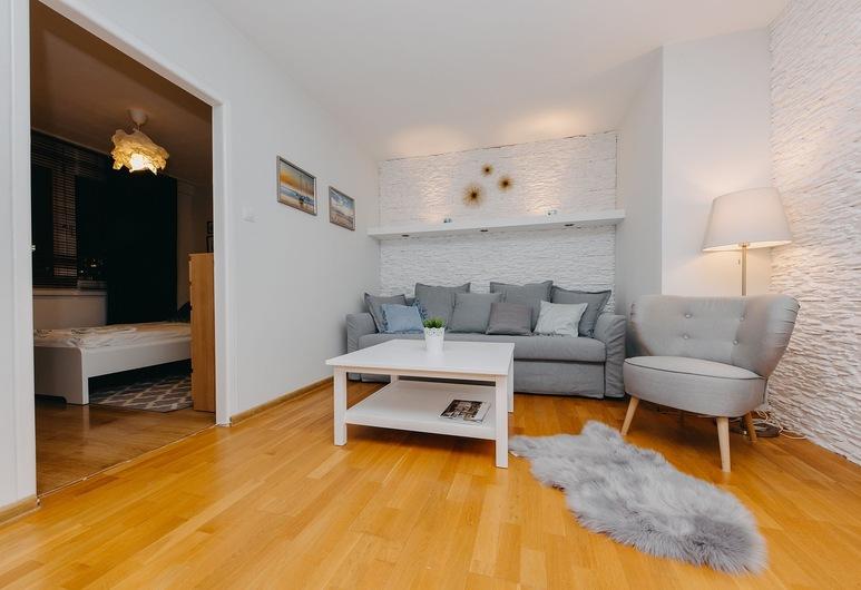 ShortStayPoland Aleje Jerozolimskie (B16), Varšava, Apartmán, viacero postelí, nefajčiarska izba, Obývacie priestory