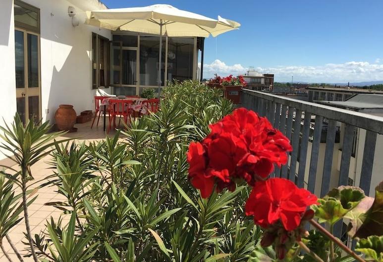 B&B Colombo, Piza, Pokój dwuosobowy, Łóżko queen, wspólna łazienka (Terrace), Taras/patio