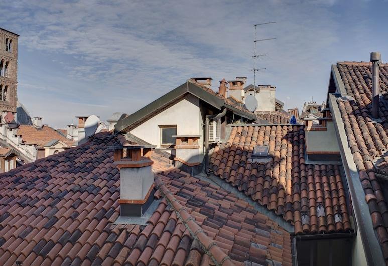 Quadrato, Turin, Apartment, 1 Schlafzimmer, Stadtblick (B 405), Zimmer
