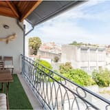 Lägenhet - 1 sovrum - balkong - mezzanine - Balkong