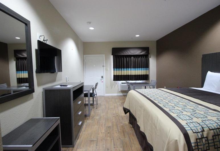 Scottish Inn & Suites, Baytown, Enkeltrom, 1 kingsize-seng, ikke-røyk, Gjesterom