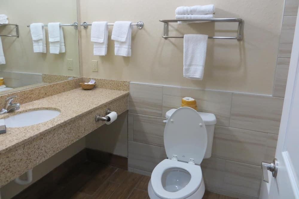 單人房, 1 張特大雙人床, 非吸煙房 - 浴室
