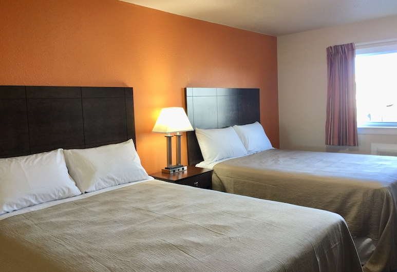 Downtown Motel, Woodward, Standard Double Room, 2 Queen Beds, Non Smoking, Guest Room