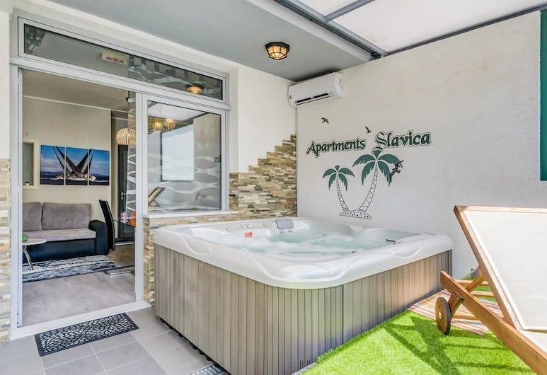 Apartment Slavica , Split, Apartman, masažna kada, Terasa/trijem