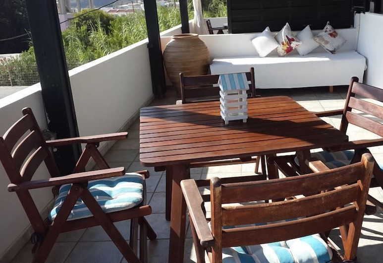 Anastasia's Garden, Rhodes, Apartment, 1 Bedroom, Teres/Laman Dalam
