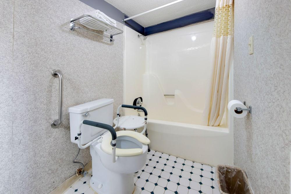 룸, 킹사이즈침대 1개, 장애인 지원 - 욕실
