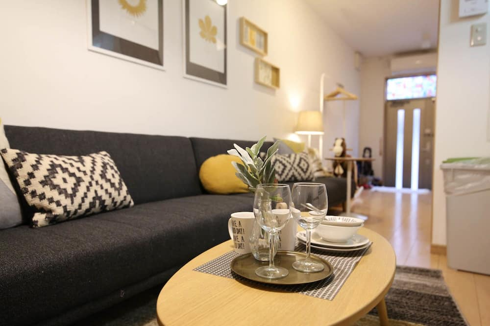 Ferienhaus (Private Vacation Home) - Wohnbereich
