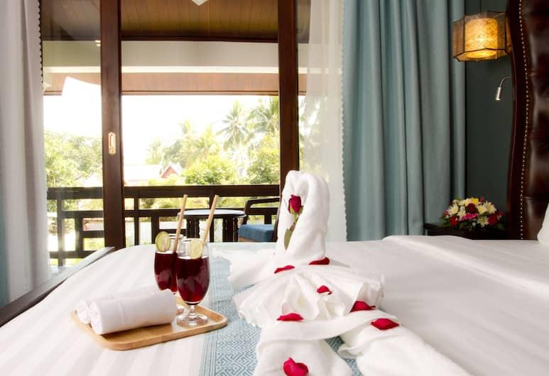 日出花園屋酒店, 龍坡邦, 豪華雙人房, 花園景, 客房