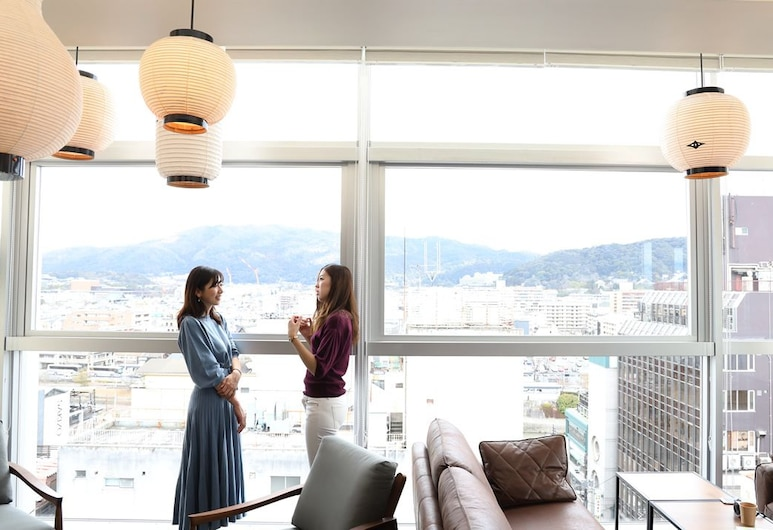 CABIN INN Kyouto Sanjo Kawaramachi, Kyoto, Lounge i lobby