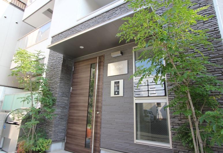 禅庵, 大阪市, 施設の入り口