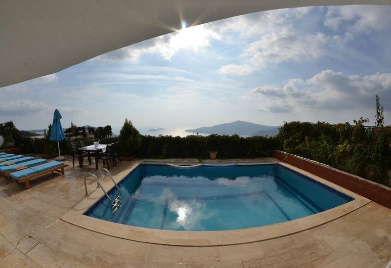 Villa Zakkum 2, Kas, Vonkajší bazén