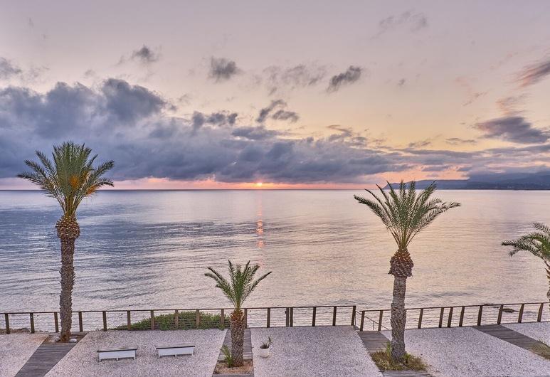 Maistrali Sea View Apartments, Hersonissos, Näkymä majoitusliikkeestä