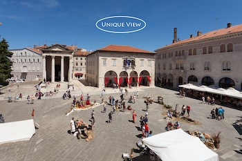 Picture of Augustus Forum View in Pula