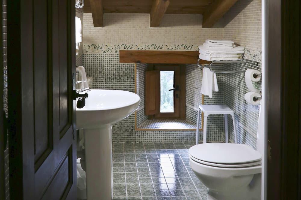 Penthouse, 2Einzelbetten - Badezimmer