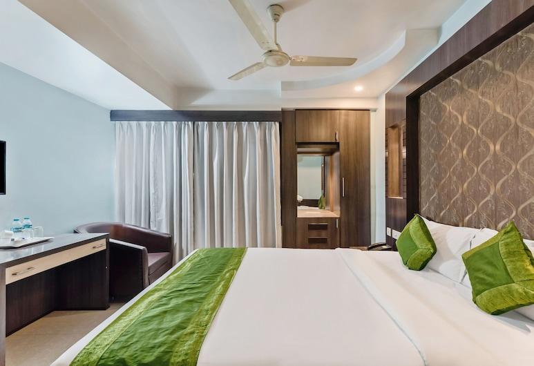 Treebo Geetanjali Regency, Kalkutta, Standardzimmer, 1King-Bett, Raucher, Stadtblick, Zimmer