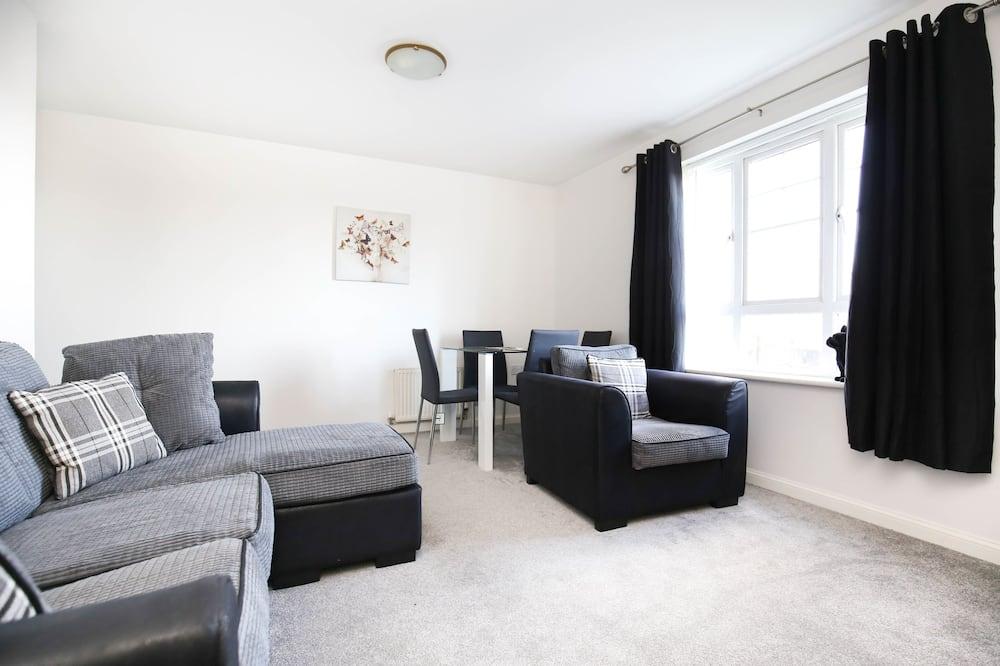 Apartment (1 King Bed & 1 Double Bed) - Ruang Tamu