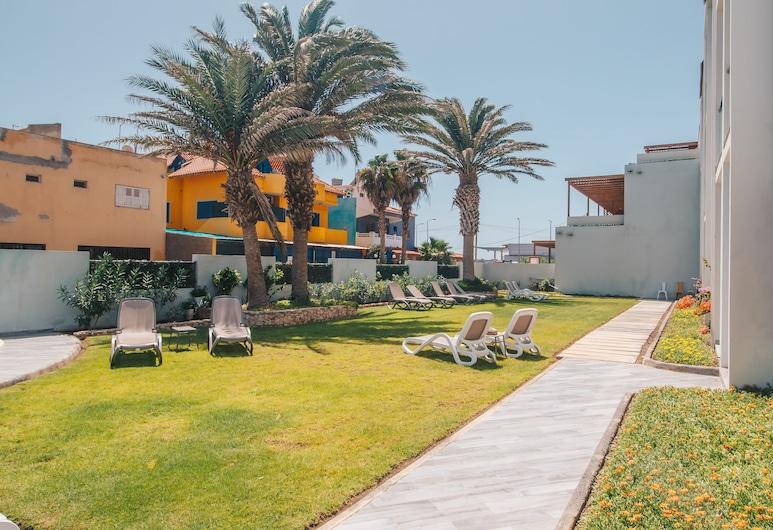Hotel Sobrado, Sal, Garten