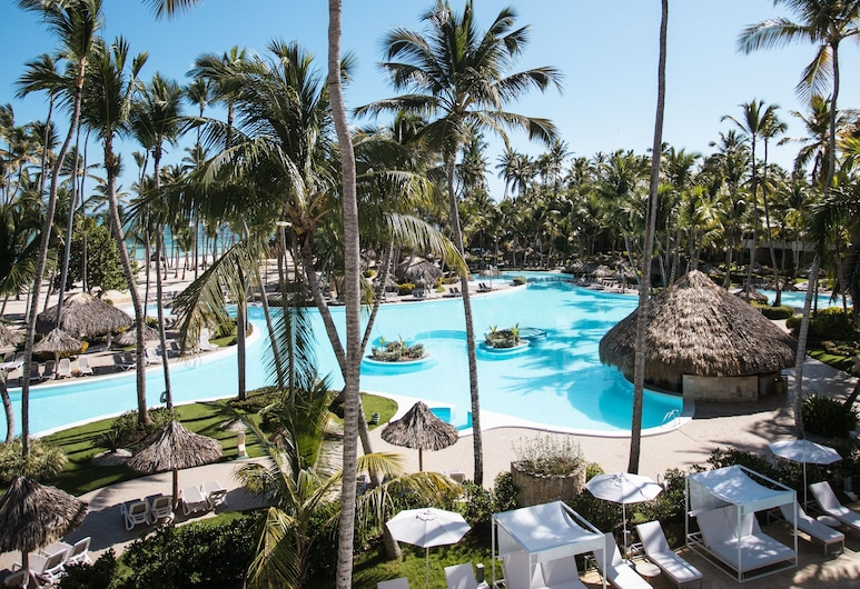 The Level at Melia Punta Cana Beach Adults Only All Inclusive , Punta Cana, Sonnenterrasse