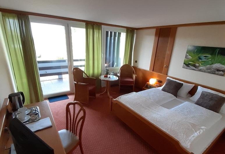 Hotel-Restaurant Rebstock, Vogtsburg, Deluxe-dobbeltværelse, Værelse