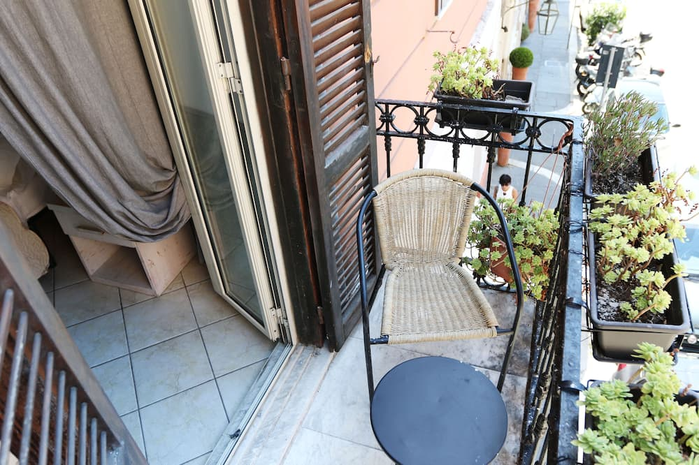 Pokoj s dvoulůžkem nebo 2 jednolůžky, kuřácký (Room 7) - Balkón