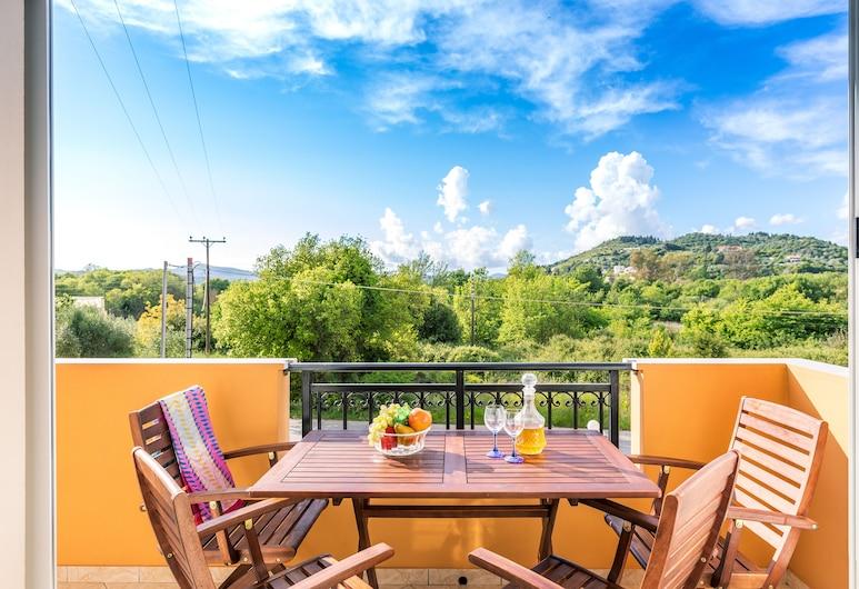 迪米特拉公寓酒店, 科孚島, 公寓, 2 間臥室, 山景, 露台