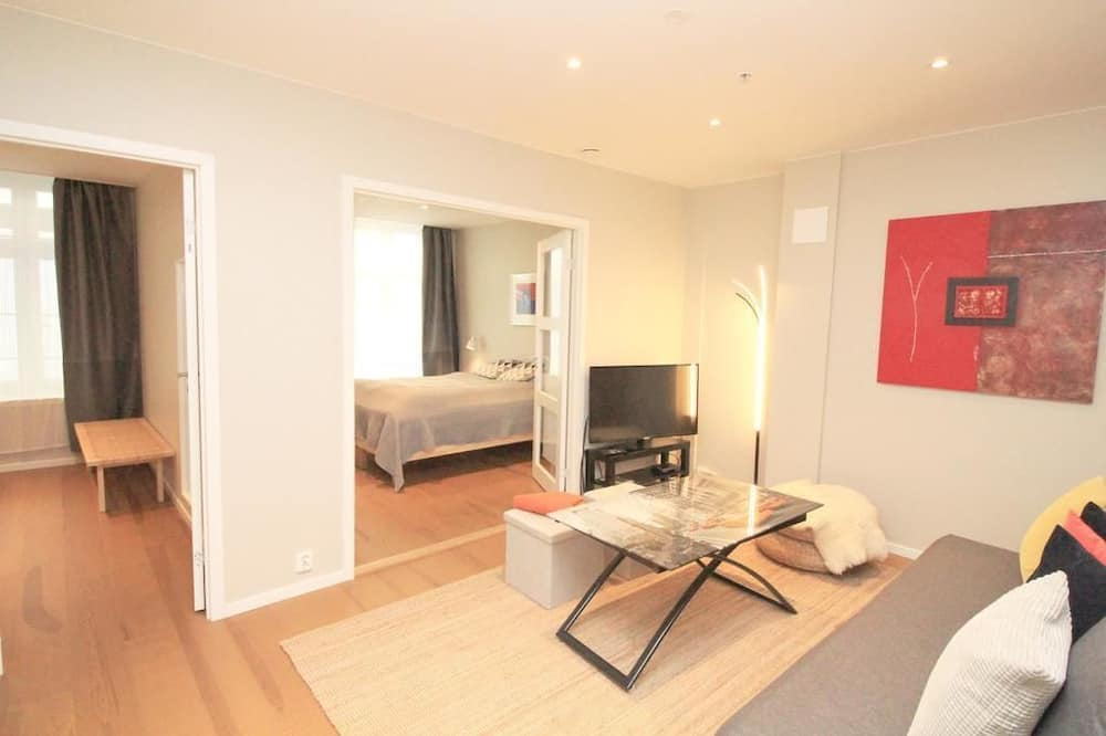 アパートメント 2 ベッドルーム - リビング エリア