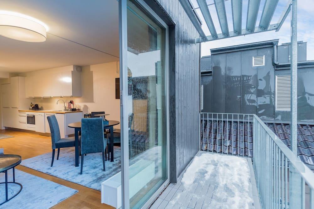 Superior-Apartment, 1 Schlafzimmer - Balkon