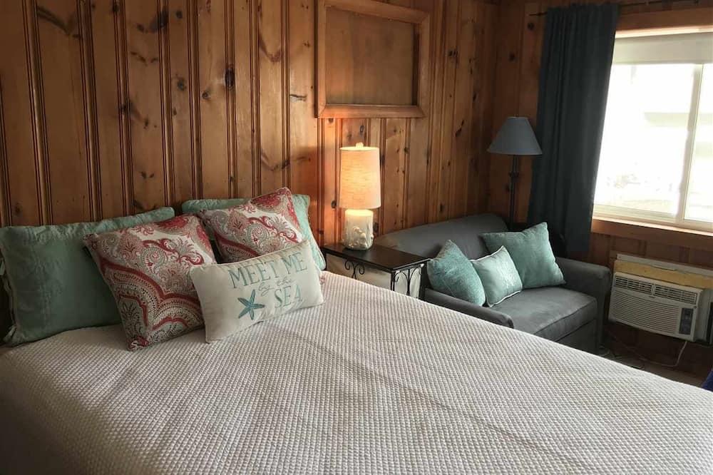 Szoba, 1 queen (nagyméretű) franciaágy és egy kihúzható kanapé, nemdohányzó - Vendégszoba