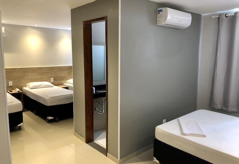Mega Aeroporto Hotel, Fortaleza, Phòng dành cho gia đình, Phòng
