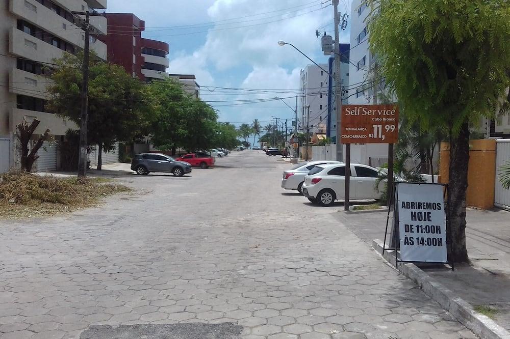 Vue sur la rue