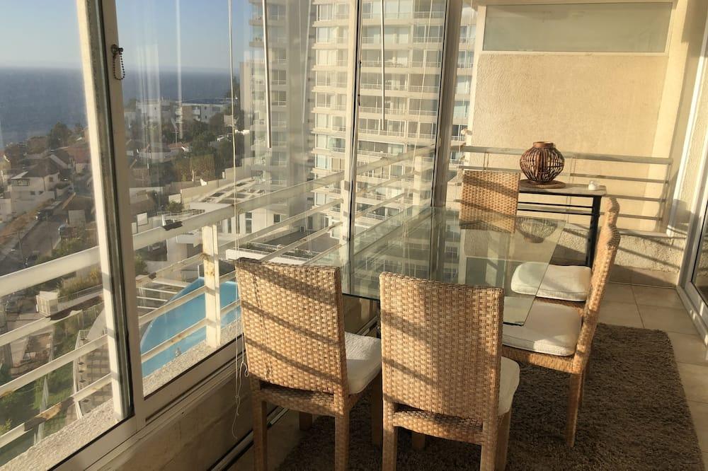 Apartmán, 1 spálňa, nefajčiarska izba - Balkón