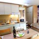 Comfort apartman, kilátással a hegyre - Nappali rész
