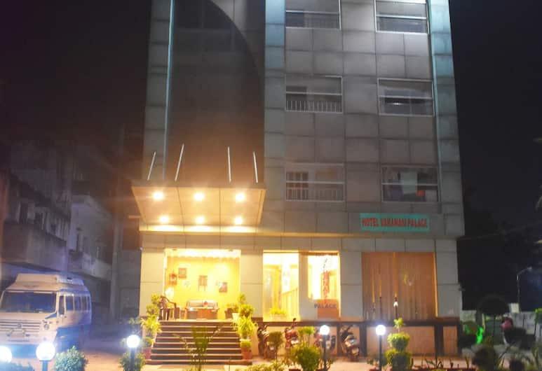 Hotel Varanasi Palace, Varanasi, Hotel Front – Evening/Night