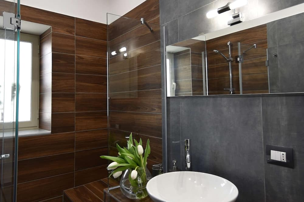 Deluxe Double or Twin Room (Asso di Picche) - Bathroom