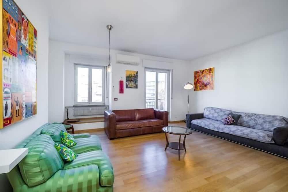 公寓, 2 间卧室 - 起居区