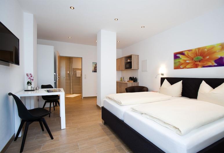 Mittelrheinpension, בופארד, דירת קומפורט, מיטת קווין, ללא עישון, חדר אורחים