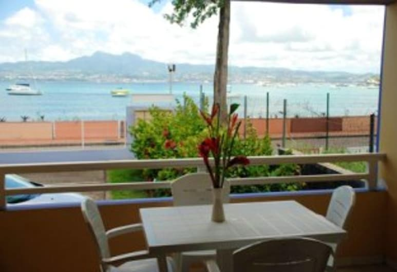 Apartment With one Bedroom in Les Trois-îlets, With Wonderful sea View, Enclosed Garden and Wifi - 20 m From the Beach, Trois Ilets
