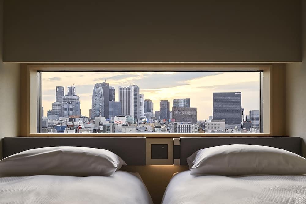 [シングルベッド2台] コンフォートツインルーム 禁煙 (高層階) - シティ ビュー