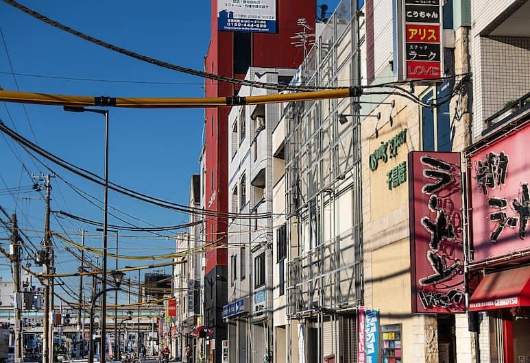 Red House, 大阪市, 外装