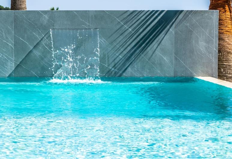 Diodorus Luxury Experience, Favara, Басейн з водоспадом