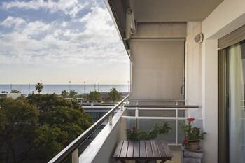 Obrázek hotelu 1317 - Modern Forum Apartment ve městě Barcelona