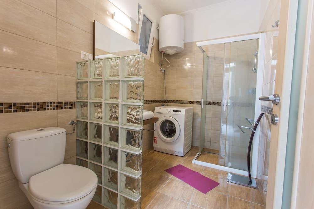Lägenhet Comfort - 1 dubbelsäng - icke-rökare - Badrum