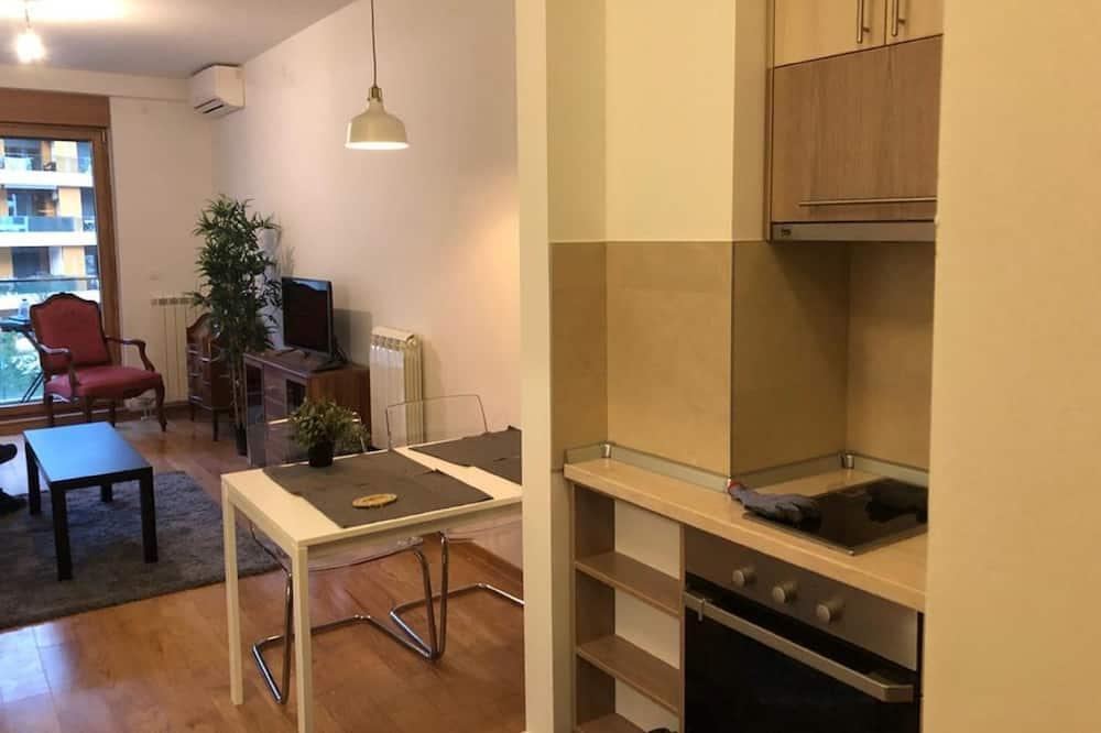 スーペリア アパートメント コートヤードビュー - 室内のダイニング