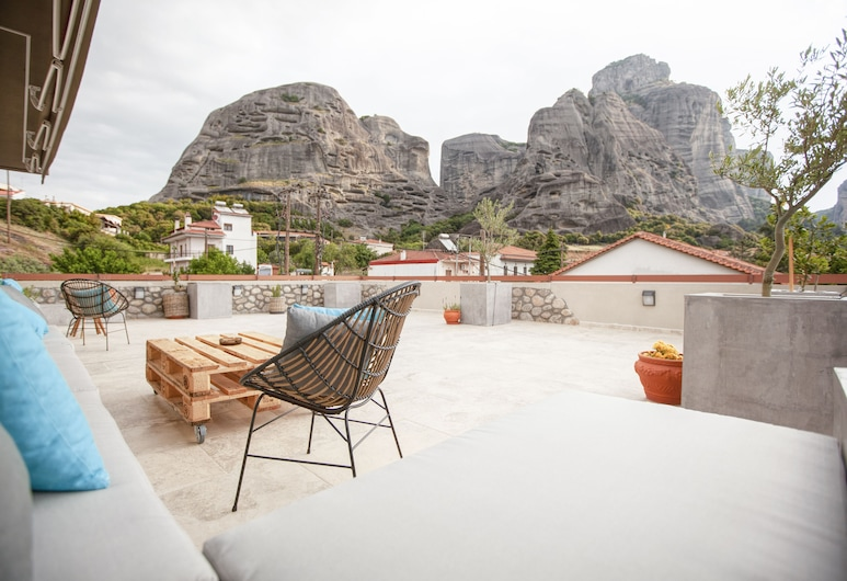 Oikia Guesthouse, Καλαμπάκα, Αίθριο/βεράντα